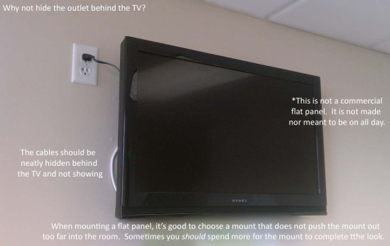 tv wall mount installation fort worth area 39 s best clear it security. Black Bedroom Furniture Sets. Home Design Ideas