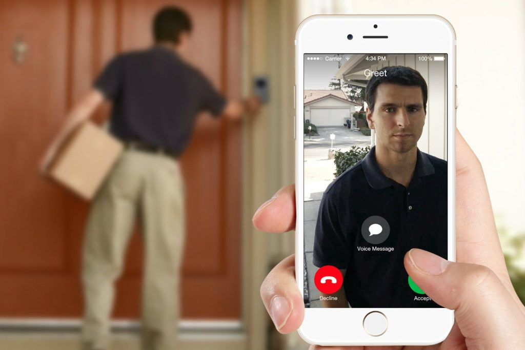 CLEAR IT SECURITY DING Doorbell Camera Installed in Fort Worth TX and surrounding DFW area