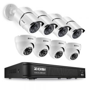 CLEAR IT SECURITY ZOSI Security Cameras Systems